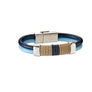 LILO Mallorca Leather 'n Rope Bracelet