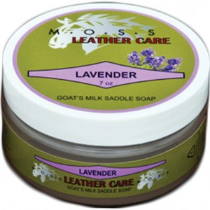MOSS Lavender Saddle Soap