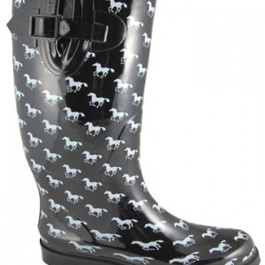 Ponies Black and White by Smoky Mountain Boots