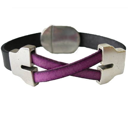 LILO Crossrail Jump Leather Bracelet 1